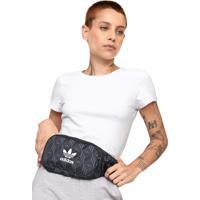 Pochete Adidas Originals Monogram Preta