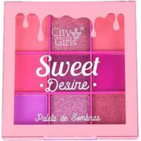 Paleta De Sombras Sweet Desire City Girls A B