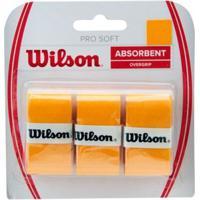 Overgrip Wilson Pro Soft New Laranja - Unissex