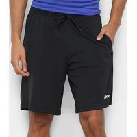Bermuda Adidas E 3S Shrt Masculina - Masculino-Preto+Branco