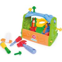 Caixa Calesita De Ferramentas Multicolorido