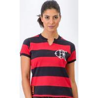 Camisa Flamengo Retrô Baby Look Tri-Carioca 1979 Feminina - Feminino