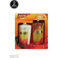 Kit 2Pçs Love Secret Loção Deo Coporal Body Splash Romance