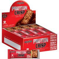 Protein Crisp Bar 12 Barras Maracujá - Integralmedica - Unissex