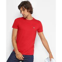 9a0476166e8 Netshoes  Camiseta Lacoste Básica Jersey Masculina - Masculino