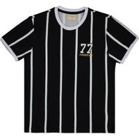 Camisa Alvinegro 1977 Retrô Juvenil - Masculino