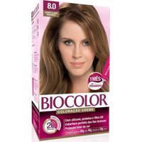 Tintura Biocolor 8.0 Louro Claro