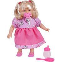 Boneca Aninha Vamos Brincar Com Acessórios - Unissex-Incolor