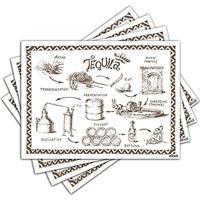 Jogo Americano - Tequila Com 4 Peças - 1146Jo