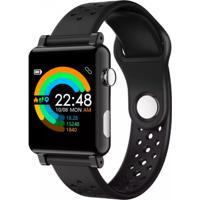 Smartwatch B71 Relógio Inteligente Pedômetro À Prova D' Água Sono - Preto