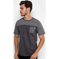 Camiseta Hd Especial 3041B Masculina - Masculino-Cinza