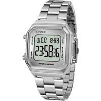 Relógio Lince Sdm616L Bxsx Digital Feminino - Feminino-Prata