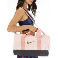 Mala Nike Team Duffle - 27 Litros - Rosa Claro