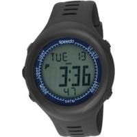 Monitor Cardíaco Com Cinta Speedo 58011G0Eg - Preto/Azul