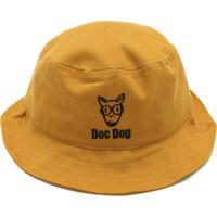 Chapéu Doc Dog Logo Amarelo