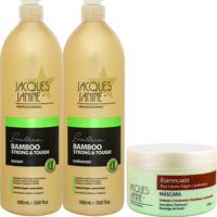 Kit De Shampoo & Condicionador Bamboo Strong & Tough + Mã¡Scajacques Janine
