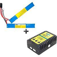 Kit Bateria De Lipo 7.4V 1500Mah 15C 2 Cel - Unissex
