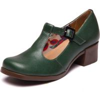 Sapato Boneca Feminino - Floater Militar 4919