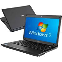 "Notebook Cce Win Wm545B - Intel Core I5-2410M - Ram 4Gb - Hd 500Gb - Led 14"" - Windows 7 Home Basic"