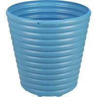 Cachepô Vaso Para Flores Azul 5,5L