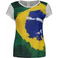 Camiseta Brasil Apore Feminina - Feminino