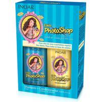 Kit Inoar Shampoo Condicionador Efeito Photoshop 250 Ml