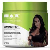 Amino Her 210G - Max Titanium - Unissex