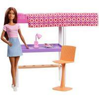 Barbie Móvel Com Boneca - Home Office Dvx51