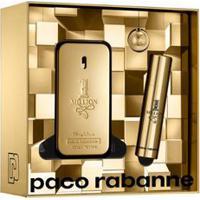 Kit Perfume 1 Million Masculino Eau De Toilette 50Ml + Travel Spray 10Ml