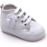 Tênis Top Franca Shoes Infantil - Feminino-Branco