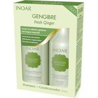 Kit Inoar Gengibre Shampoo + Condicionador 250 Ml - Unissex-Incolor