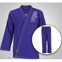Kimono Jiu-Jitsu Venum Competidor Colors - Adulto - Azul