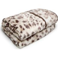 Cobertor Casal Corttex 180X220 Home Design Marrom