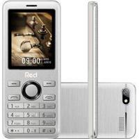 Celular Red Mobile Prime M012F Dual Desbloqueado Prata