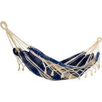 Rede / Descanso Para Bebê - Azul Escuro