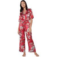 Conjunto Longo Sleepwear Cetim