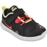 Tênis Infantil Nike Flex Contact 3 Tdv - Unissex-Preto+Vermelho