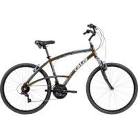 Bicicleta Caloi 400 M - Aro 26 - Freio V-Brake - Câmbio Traseiro Shimano - 21 Marchas - Verde Escuro