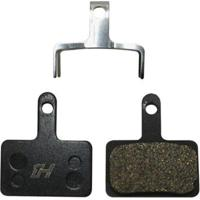 Pastilha Para Freio A Disco Semi Metálica High One Ws825 Tipo Shimano B01S - Unissex