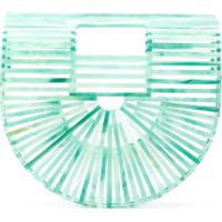 Cult Gaia Clutch 'Ark' - Verde