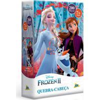 Quebra-Cabeça Frozen 2 200 Peças - Toyster - Kanui