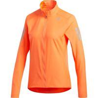Jaquetas Corrida Adidas Jaqueta De Corrida Laranja