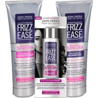 Kit Shampoo + Condicionador + Primer John Frieda Frizz Ease Beyond Smooth Frizz Immunity Kit - Unissex-Incolor