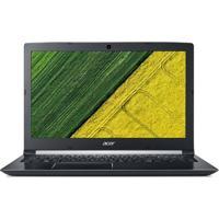 "Notebook Acer Aspire A51551G72Db Intel Core I7-7500U 8Gb Hd 1Tb Tela 15.6"" Led Windows 10 – Preto"