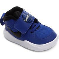 Tênis Infantil Nike Team Hustle D 9 Td - Unissex-Azul Royal+Preto