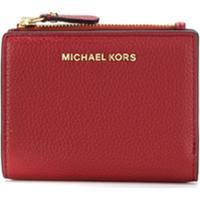 Michael Michael Kors Carteira Compacta Com Logo - Vermelho