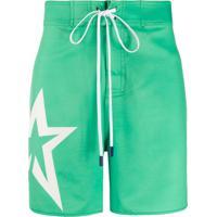 Perfect Moment Short De Natação Com Estrela - Verde