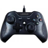Controle Xbox One Warrior Multilaser Preto - Js078