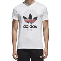Camiseta Masculina Graphic Adidas Branca