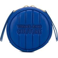 Versace Jeans Couture Porta-Moedas Redondo Matelassê - Azul
